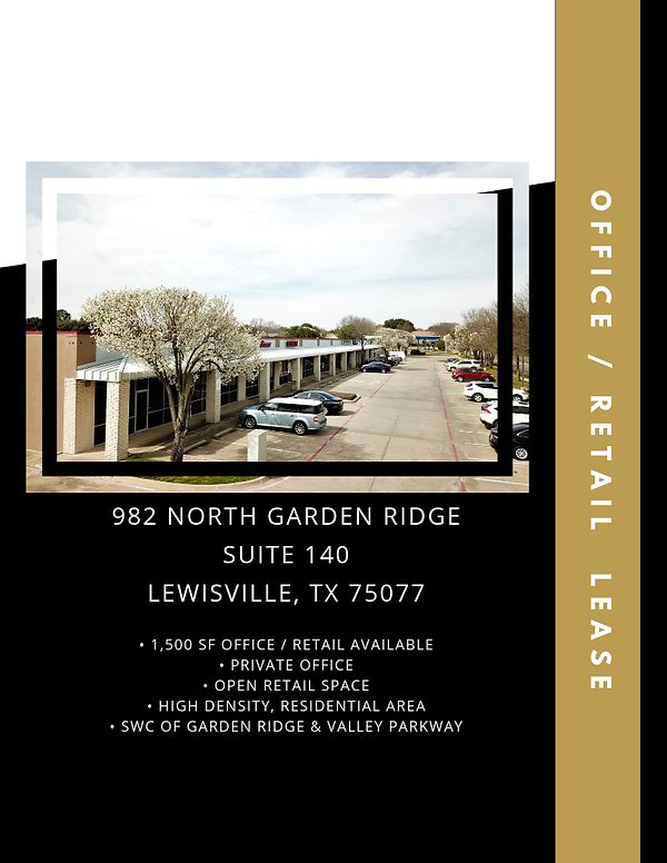 Office Retail Space for Lease: Lewisville, TX