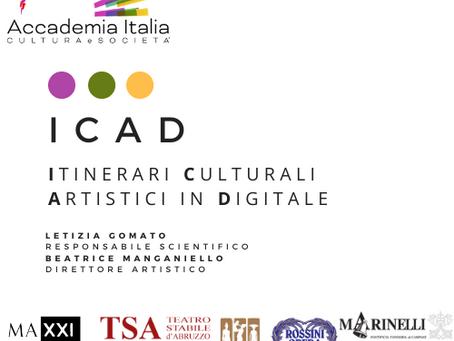 Itinerari Culturali Artistici in Digitale: semplicemente #ICAD