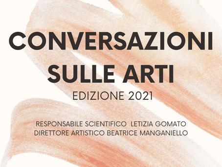Conversazioni sulle arti 2021 al Liceo Classico Musicale Delfico di Teramo