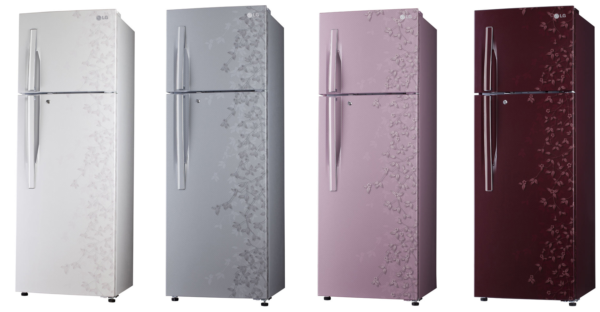 LG Regrigerator 3D Surface Body Graphics