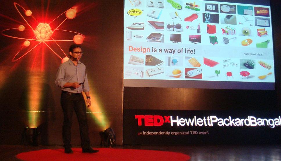 TEDx Speaker PAUL SANDIP INDUSTRIAL DESI
