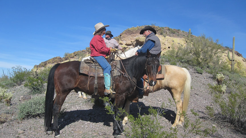 Horse Riding Wickenburg Arizona