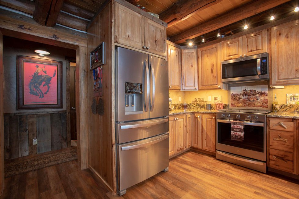 Turnerville Wyoming Custom Log Cabin