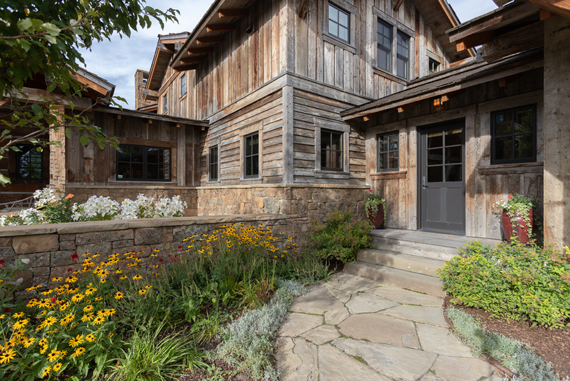 Trouts Landing Architecture Photography Jackson Wyoming