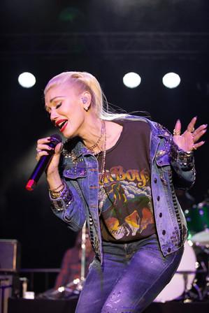 Gwen Stefani at One Love Malibu