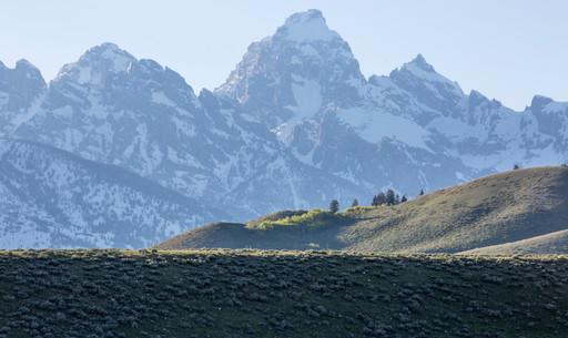 Grand Teton National Park Mountain View