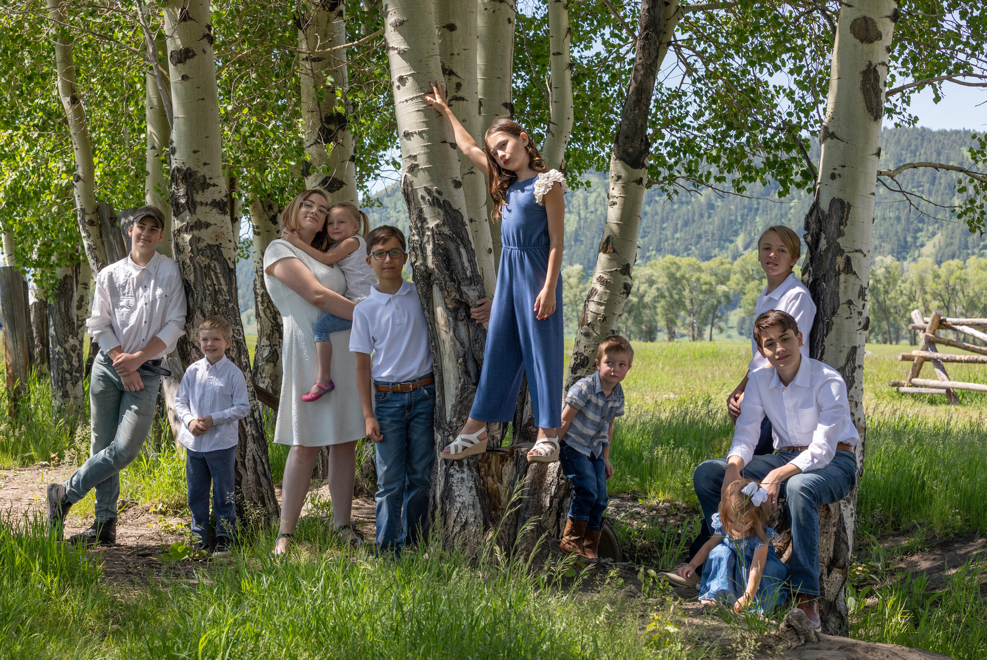Steele Family Photos Grand Teton Nationa