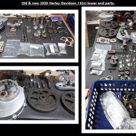 Harley Davidson Boardtracker Motor Parts