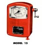 Bennett air meter model 15