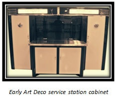 Early Art Deco Service Station Cabinet.j