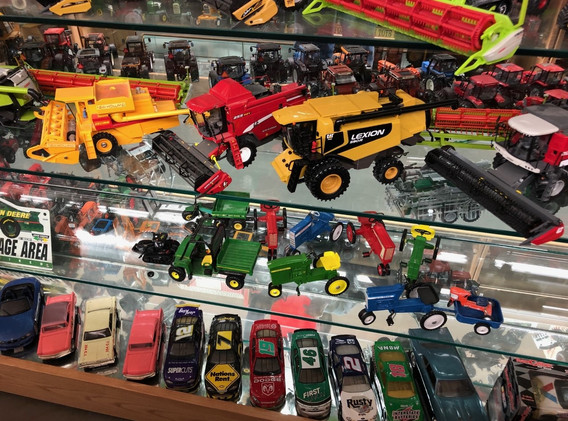Ron and Betty toy tractor collection 6.j