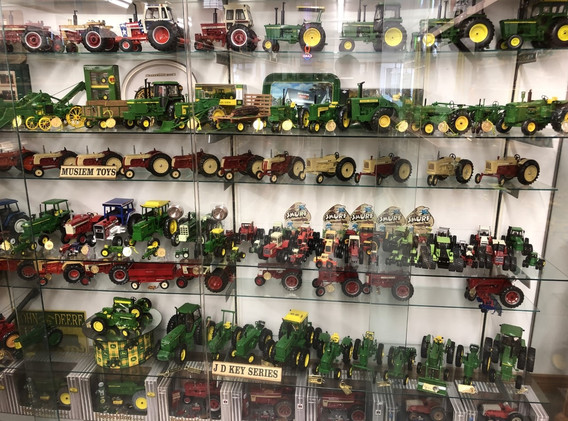 Ron and Betty toy tractor collection 3.j