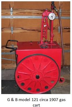G B model 121 gas cart circa 1907