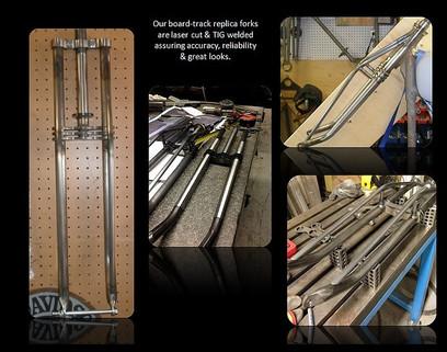 Indian Boardtracker Forks