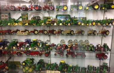 Ron and Betty toy tractor collection 13.