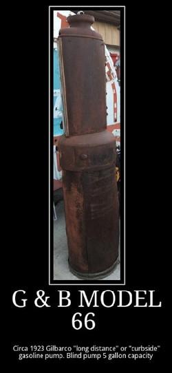 GB model 66 Blind 5 Gallon curbside pump