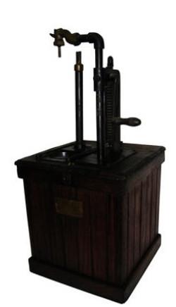 Bowser model 502 lubester circa 1901 store counter dispenser
