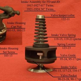 1920 Harley Boardtracker Intake Valve