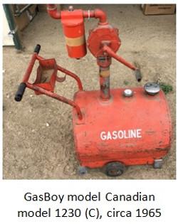 gasboy model 1230C rotary pump