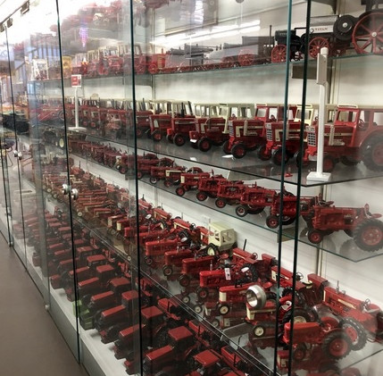 Ron and Betty toy tractor collection 1.j