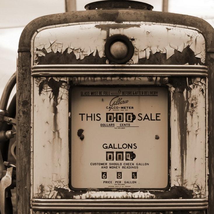 Vintage gas pump and motorcycle restorations