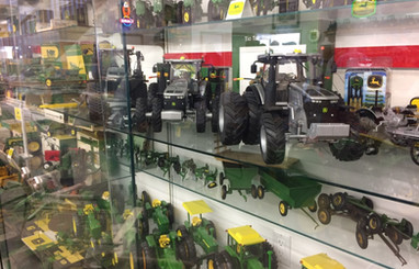 Ron and Betty toy tractor collection 16.