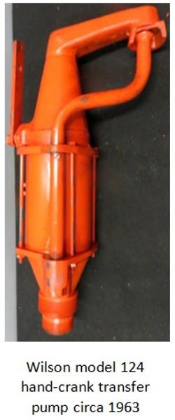 gasboy wilson model 124 hand crank