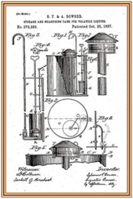 Bowser Kerosene pump