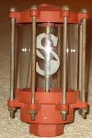 Sharmeter VisiFlow Gas Pump Gauge 350