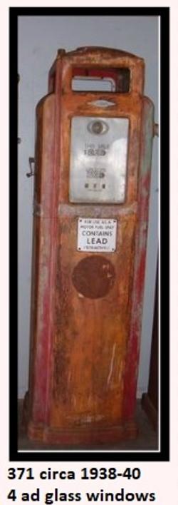 bennett model 371 circa 1938 to 1940 four ad glass