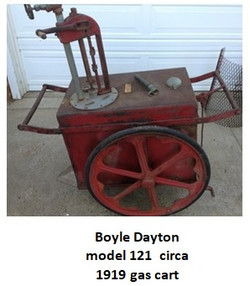 boyle dayton gas cart model 121 circa 19