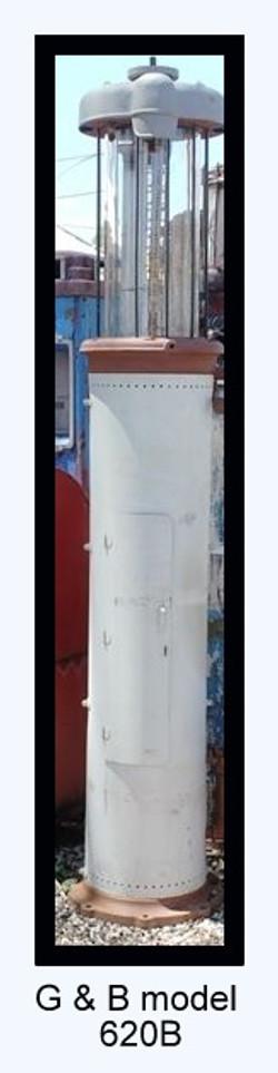 G and B model 620B webpage