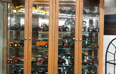 Ron and Betty toy tractor collection 8.j