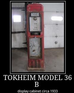 tokheim 36 b display