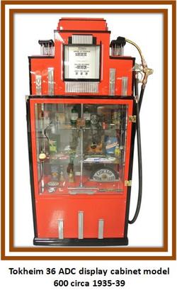 tokheim display cabinet