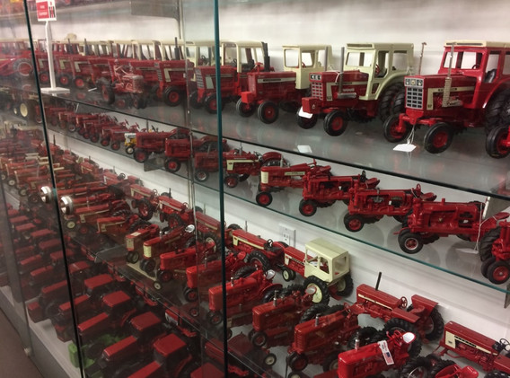 Ron and Betty toy tractor collection 15.