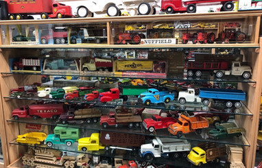 Ron and Betty toy tractor collection 4.j