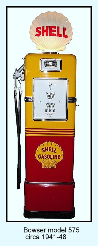 VINTAGE GAS PUMP IDENTIFICATION PAGE   Vintage gas pump and
