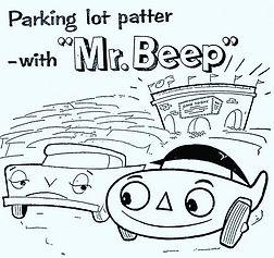 Mr. Beep parking lot patter.jpg