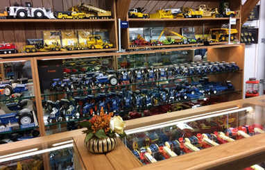 Ron and Betty toy tractor collection 12.
