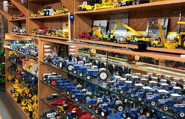 Ron and Betty toy tractor collection 7.j