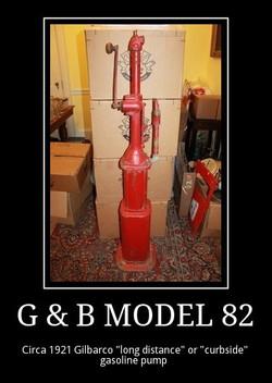g and b model 82 circa 1921