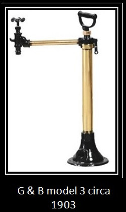 g and b model 3 circa 1903 long distance pump