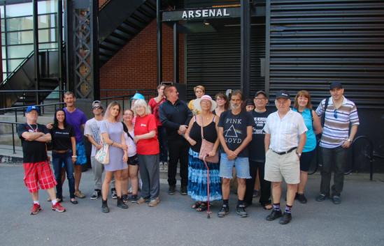 Visite de l'Arsenal avec Claire, médiatrice d'Élektra