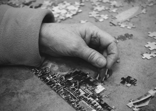 main et puzzle