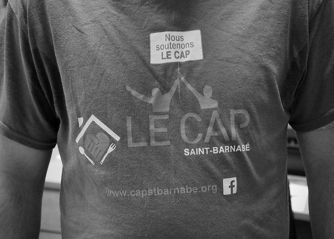 tee-shirt avec logo du CAP