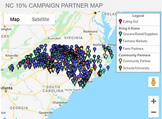 NC 10% Campaign partner map screenshot.p