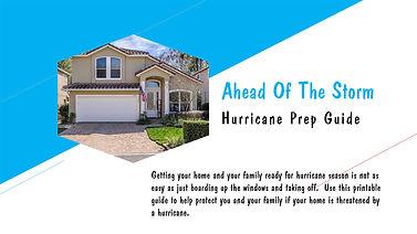 Ahead of the Storm Hurricane Prep Guide