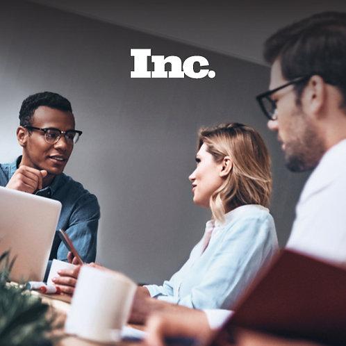 Inc. Magazine: Building a Fast- Growing Business (Bundle)