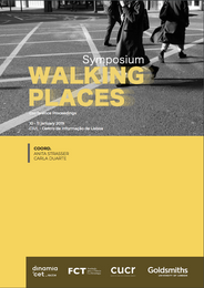 Symposium  WALKING PLACES  conference proceedings